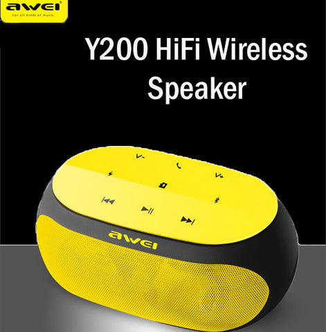 Awei Y200 HiFi Bluetooth Wireless Speaker Suitable for Phones and Computers