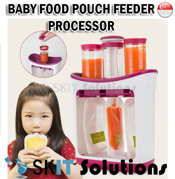 Beikangmei Baby Food Pouch Feeder Processor Station Blender Cooker Multifunctional Soft Food Infant
