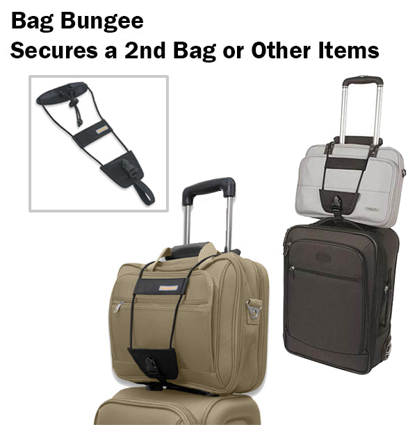 Bag Bungee Secure Second Bag Coat Other Items Luggage Baggage Strap Travelling