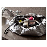 Beauty Cinch Up Make Up Bag Organiser Pouch Bag Clear Easy Fast Stain Resistant