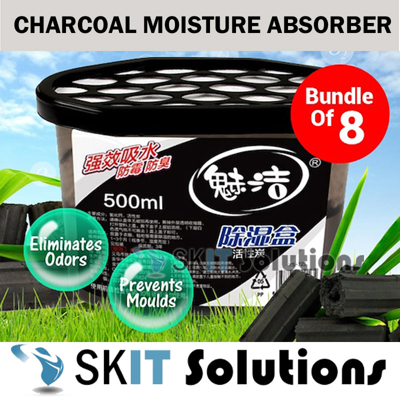 Charcoal Moisture Absorber★Bundle of 8★