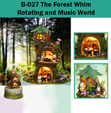 CuteRoom The Forest Whim★Miniature Doll House Dollhouse★DIY Gift Wooden Handmade