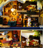 CuteRoom Roam Around in Winter★Miniature Doll House Dollhouse★DIY Gift Wooden 3D