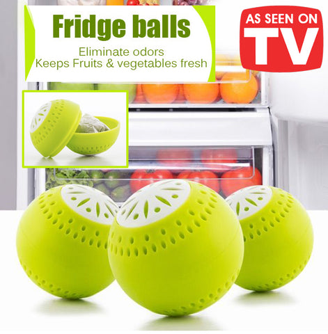 As Seen On TV Fridge Balls Keeps Fruits Vegetables Fresh Longer Storage Healthy