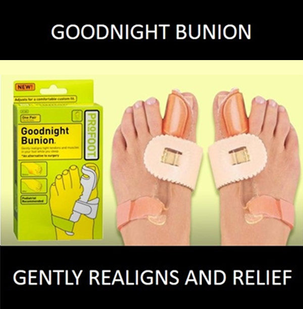 Goodnight Bunion 1 Pair Realign Tight Tendons Muscles Effective Relief Comfort