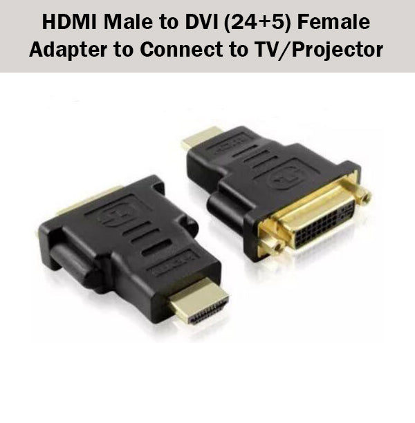 connect dvi computer to hdmi tv