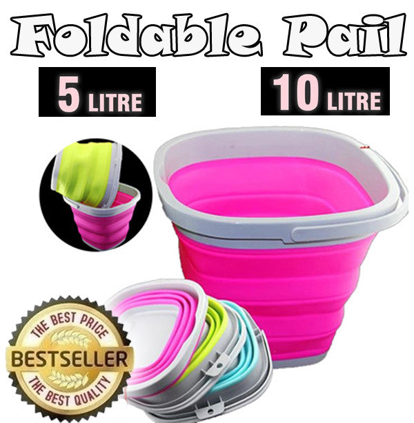 Waterproof and Retractable Outdoor Water Pail 5 / 10 Litre