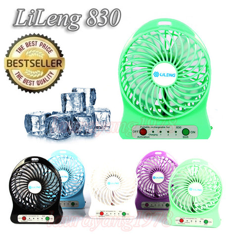 Lileng 830 Portable 4 Inch Mini USB Cooling Fan