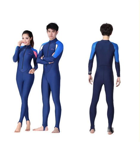 LS-715C Adult Long Sleeve Snorkel Diving Swimming Suit UV Protecting