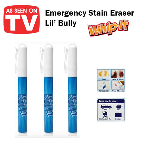 As Seen On TV Lil' Bully Emergency Stain Eraser Remover Pen Dissolve Portable