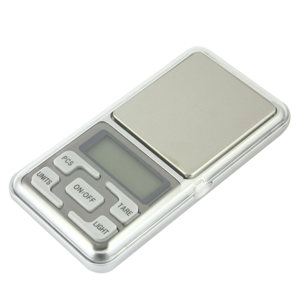 0.1g-500g/0.01g-200g Pocket Weighing Scale