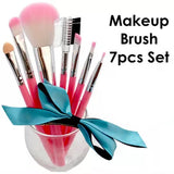 Makeup Make Up Brush 7 Pieces Set Soft Bristle Powder Blusher Eyebrow Cosmetics