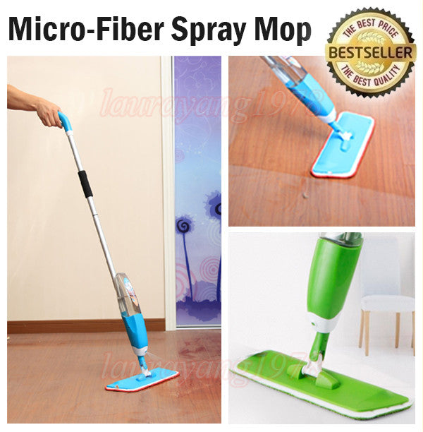 Washable Microfiber Spray Mop