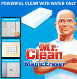 Mr Clean Magic Eraser Sponge Tough Stain Remover Marking Wall Door Light Cleaner