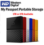 WD 1TB 2TB My Passport Portable Storage Hard Disk Hardisk Windows Mac OS Backup