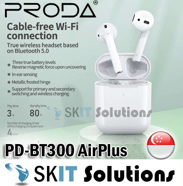 Remax Proda PD-BT300 AirPlus TWS Earbuds Earphone Earpiece