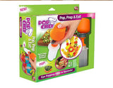 Pop Chef Just Push Pop and Eat Treats Design Dessert Plating Shapes Shape Cutter