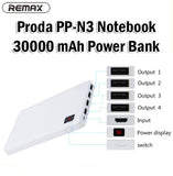Remax Proda PP-N3 Notebook 30000mAh Power Bank Portable Charger Charging Charge