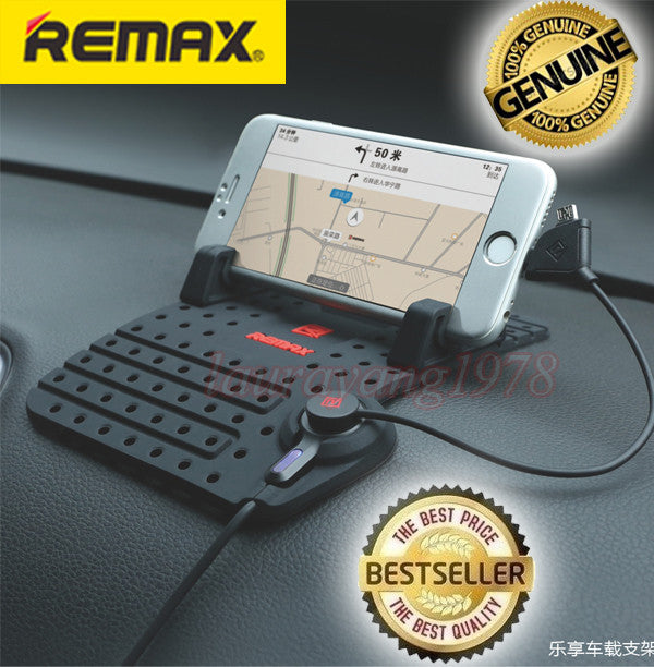 Remax Flexible Dashboard Car Phone Holder
