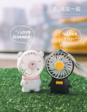 Remax Life Desktop Handheld Fan Portable Lightweight Light Travel RL-FN03 Giddyo Series