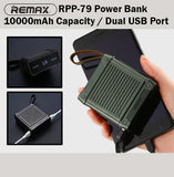 Remax RPP-79 Armory Power Bank Powerbank 10000mAh Portable Charger Charging