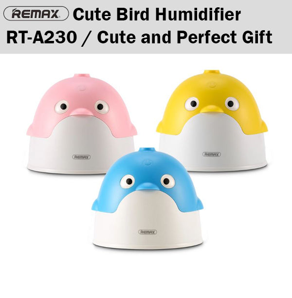 Remax RT-A230 Cute Bird Humidifier Aromatherapy Aroma Moist Spray Mist Diffuser