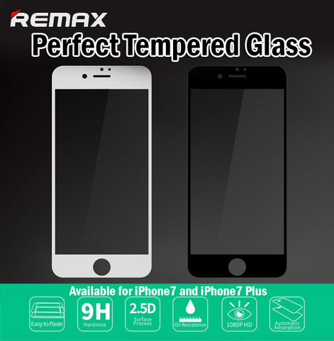 Remax 9H Perfect Tempered Glass iPhone7 iPhone 7 Plus 7+ 0.3mm Oil Resistance