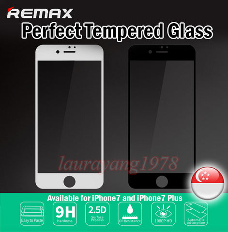 Remax 9H Perfect Tempered Glass iPhone X 0.3mm Oil Resistance