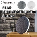 Remax RB-M9 Fabric Desktop Bluetooth HD Speaker Wireless For Phones Computers