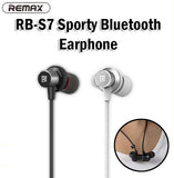 Remax RB-S7 Sporty Bluetooth Earphone Earpiece Magnetic Magnet Design Sports