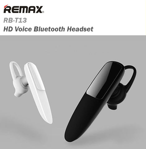 88298c1939c Remax RB-T13 HD Voice Bluetooth Headset Wireless Sport Music IOS Android  Samsung