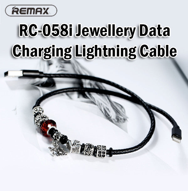 Remax RC-058i Jewellery Data Charging Cable 0.5m 8Pin Lightning iPhone IOS Apple
