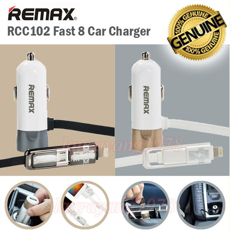 Remax RCC102 Fast 8 Car Charger