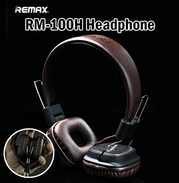 Remax RM-100H Headphone Headset Music Tablet Smartphone Android iPhone Samsung