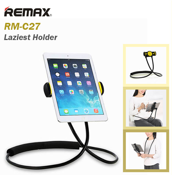 Remax RM-C27 Laziest Holder Neck and Waist Hanger Smart Phone Tablet IOS Android