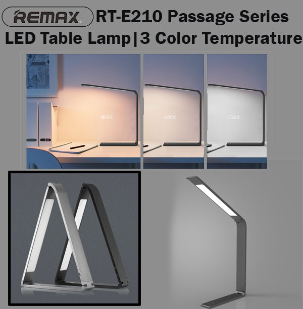 Remax RT-E210 Passage LED Table Lamp Study Light Lights Sidetable Night Bright