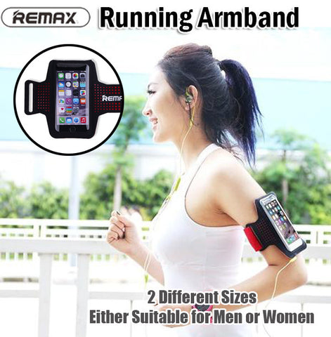 Remax Running Jogging Armband Antisweat Waterproof Phone Android iPhone 5.5 inch