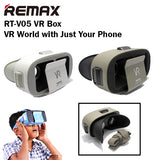 Remax RT-V05 VR Box 5.5 Inches Virtual Reality Samsung iPhone Android Smartphone