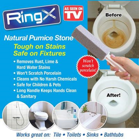 As Seen On Tv Ring X Tough Stain Remover Toilet Bowl Floor
