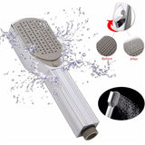 Massage Showerhead with Brush Comb Foot Scrub Callus Remover Shower Head Suitable for Pets