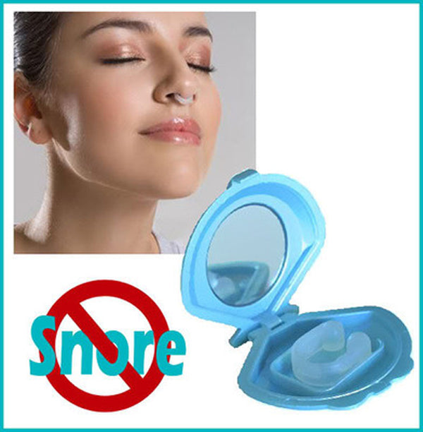 Anti-Snore Nose Clip Health Sleeping Aid Equipment Control Snore Cure Silica