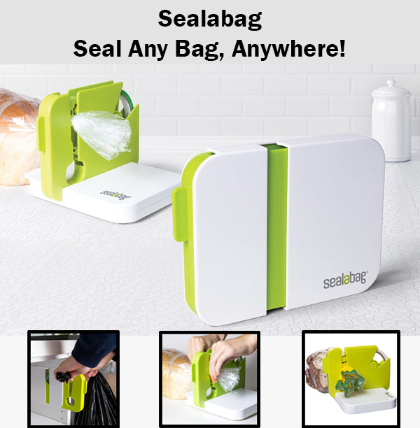 Sealabag Versatile Bag Sealing Device Seal Any Bag Anywhere Convenient Easy Use