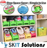 MA2618 1 Piece Shoe Space Storage Portable Under Rack Organiser Saver Adjustable