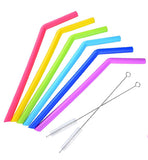 Silicone Reusable Straws for All Ages Babies Baby Children Toddler Kids Straw