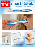 As Seen On TV Smart Swab Soft Spiral Ear Cleaner Easy Earwax Removal Flexible