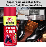 Super Panel Wax Shoe Shine Spray Remove Dirt Shoes Shine Non Sticky Polish Clean