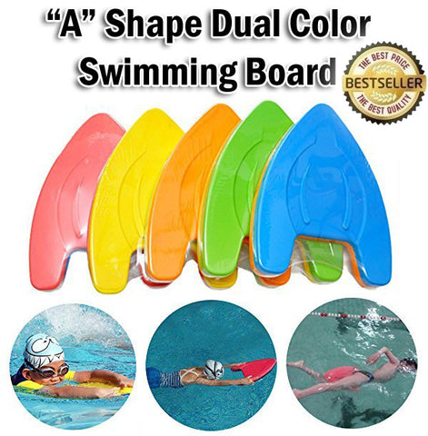 """A"" Shape Swimming Kick Board Swim Float Pool Tools Adults Kids Children Training Aids"