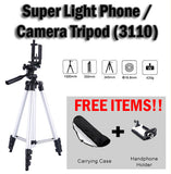 Light Weight Handphone Phone Digital Camera iPhone Tripod 3110 with Free Bracket
