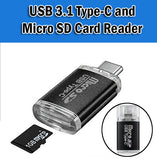 USB 3.1 Type C Port Micro SD Card Reader Flash Drive Memory Computers HandPhones