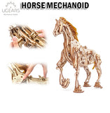 UGEARS Horse Mechanoid DIY Wooden Building Mechanical Model Gift Kit